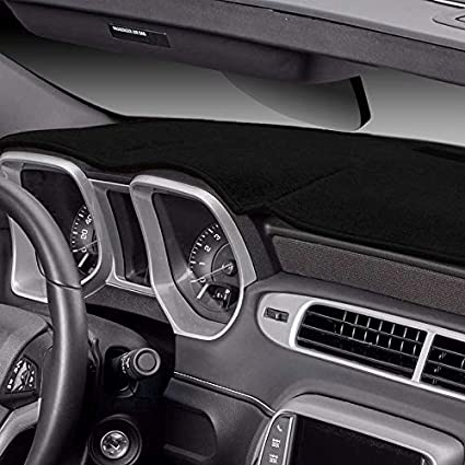 Black Covercraft Custom Fit Dash Cover for Select Acura ZDX Models Polyester 61900-00-25
