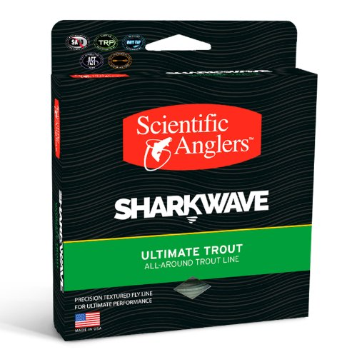 Scientific Angler WF-8-F Sharkwave Trout Mist Fly Line, G...