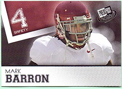 purchase cheap 63a81 efd43 Mark Barron 2012 Press Pass #2 - Tampa Bay Buccaneers ...