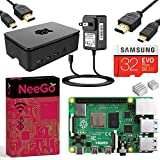NEEGO Raspberry Pi 4 4GB Complete Kit - 4GB RAM