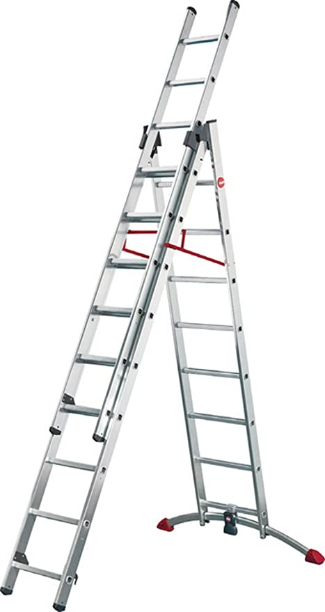 Hailo Escalera combinada 3 x 12 peldaños: Amazon.es: Electrónica