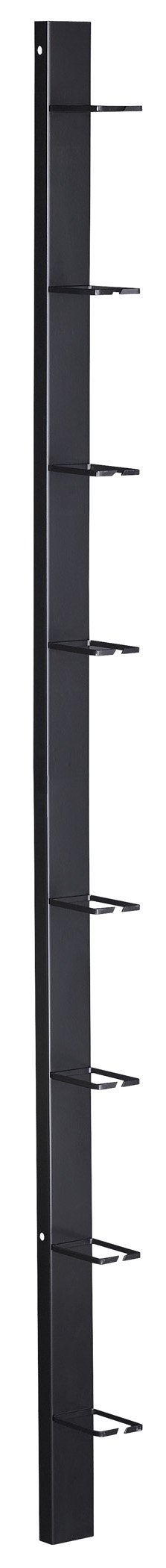 Black Box Vertical Rackmount IT Cable Manager 3''W, 48U, Double-Sided, Black