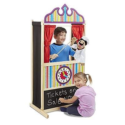 Melissa & Doug 12530 Puppet Time Theatre: Melissa&Doug: Toys & Games