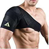 PU Health Pure Acoustics Top Quality Adjustable Joint Support Medical Shoulder Neck Brace Pain Reliever