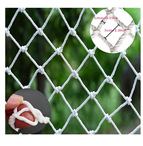 Child Safety Net BHH Cargo Cover Net Rope Protective Plant Netting Building Construction Safety Net Anti-Fall Nylon Rope Net Hanging Clothes Hammock Decoration Swing Rope Width 1.5m (Size : 1.5x21m) (Width Hammock)
