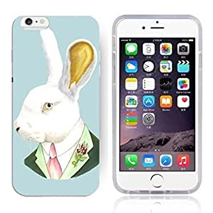 Animal Art Illustration Pattern HD Durable Hard Plastic Case Cover for iphone 6 plusd 5.5