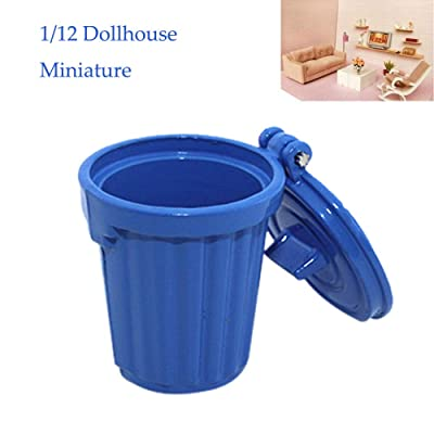 FILOL 1:12 Cute Dollhouse Furniture Doll House Accessories Decor Miniature Toy Nice Paly Things DIY Ornament Kit for Girls Boys Toddlers Pre-K: Toys & Games