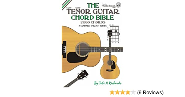 The Tenor Guitar Chord Bible: Standard and Irish Tuning - 2, 880 ...