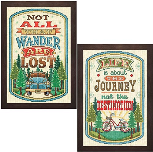 Design Works - Journey Décor Counted Cross Stitch Kits - Al