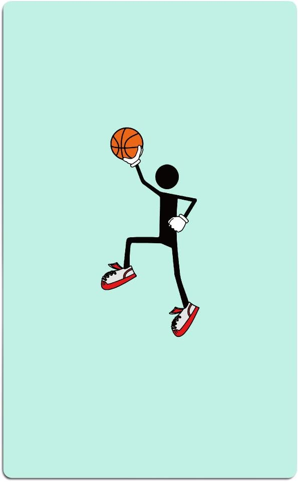 Jugador de Baloncesto Cartoon absorbente toalla de playa de billar y toalla de ducha 80 cm * 130 cm: Amazon.es: Hogar