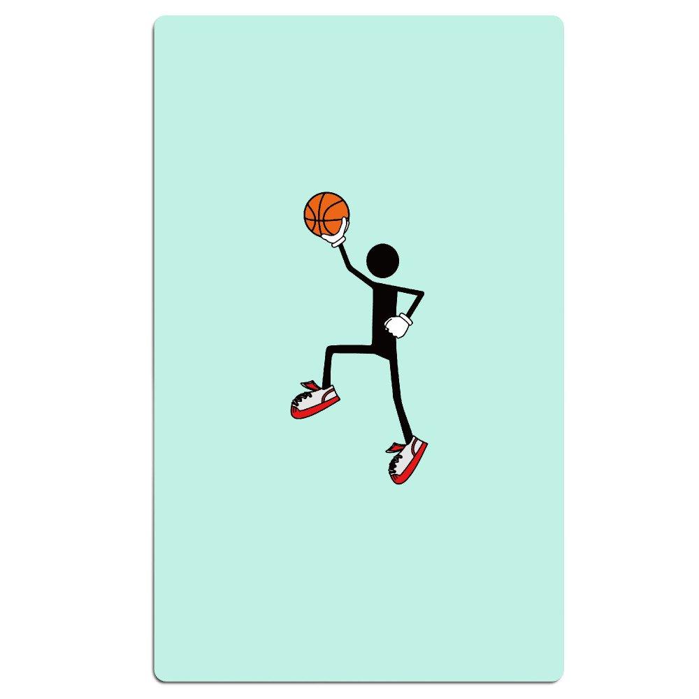 Jugador de Baloncesto Cartoon absorbente toalla de playa de billar ...
