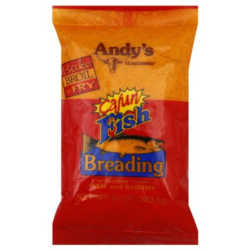 (Andys Cajun Fish Breading (Pack of 3))