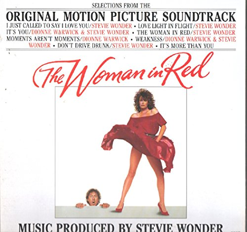 (Stevie Wonder: The Woman In Red Soundtrack LP VG++/NM Canada Motown M 6108)
