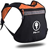 Short Reflective Running Vest Backpack Gear for Men & Women, Minimalist Small Lightweight Cell-Phone Accessories Holder for Fitness, Night Running, Cycling, Jogging Climbing Outdoor Sports Equipment
