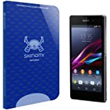Sony Xperia Z1 Screen Protector, Skinomi® Tech Glass Screen Protector for Sony Xperia Z1 Clear HD and 9H Hardness Ballistic Tempered Glass Shield with Lifetime Warranty