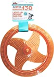 Bow Wow Pet ASPCA Light-Up Frisbee Dog Toy-Orange