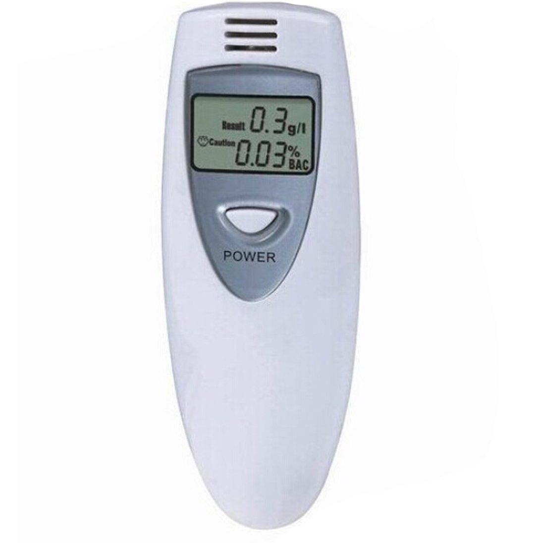 Alcohol/ímetro digital con pantalla LCD y tama/ño de bolsillo