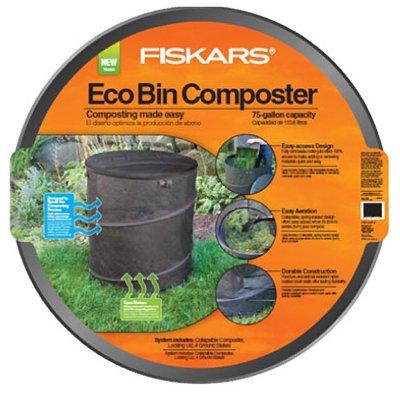 046561157050 - Fiskars 75 gallon Eco Compost Bin (5705) carousel main 0