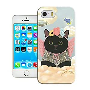 Customizable Cats and tigers iphone 5/5s Case Cover for Guys New Design Phone Case