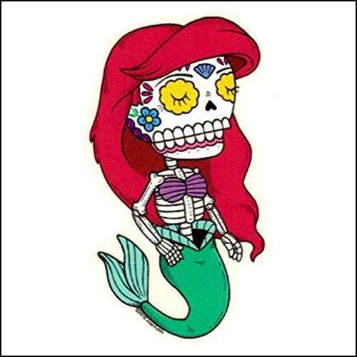 Ariel - Day of the Dead Sticker