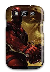 Lovers Gifts JeremyRussellVargas Snap On Hard Case Cover Deadpool Protector For Galaxy S3