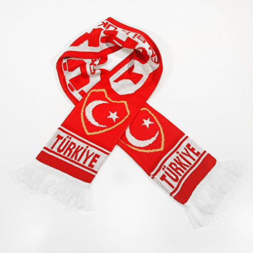 - Turkey National Soccer Team - Premium Fan Scarf, Ships from USA