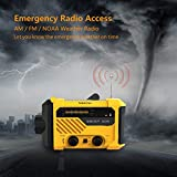 NOKLEAD Portable Emergency Weather Radio – Hand