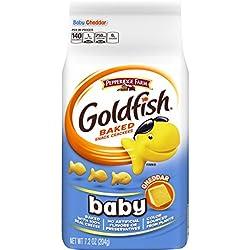 Pepperidge Farm Goldfish Baby Cheddar Crackers, 7.2 Ounce