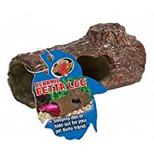 Zoo Med Ceramic Betta Hide Log (4.25-Inch)
