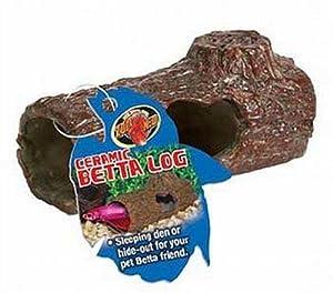 Zoo med laboratories azmfa50 sinking ceramic for Betta fish toys