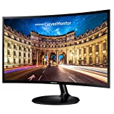 Samsung Electronics Korea Super Slim Curved Design C24F390F LED Curved Black Monitor 24 inches