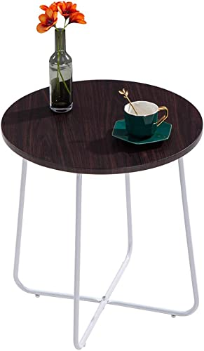 INOVIX Steel Patio Table Grand Steel Patio Side Table Small Coffee