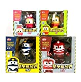 Korean Animation Robot Train Transformer Train Robot character Kay Alf Duck Selly 4 kinds of friends Toy Kids Children