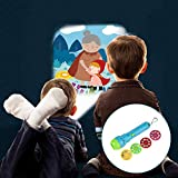 Junda Toy Projector Flashlight Kids Educational Toy Handed Projector Story Flashlight Projector Toy Torch With Button Batteries