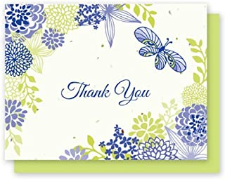product image for Grow A Note® Thank You Flower & Butterfly 5-Pack
