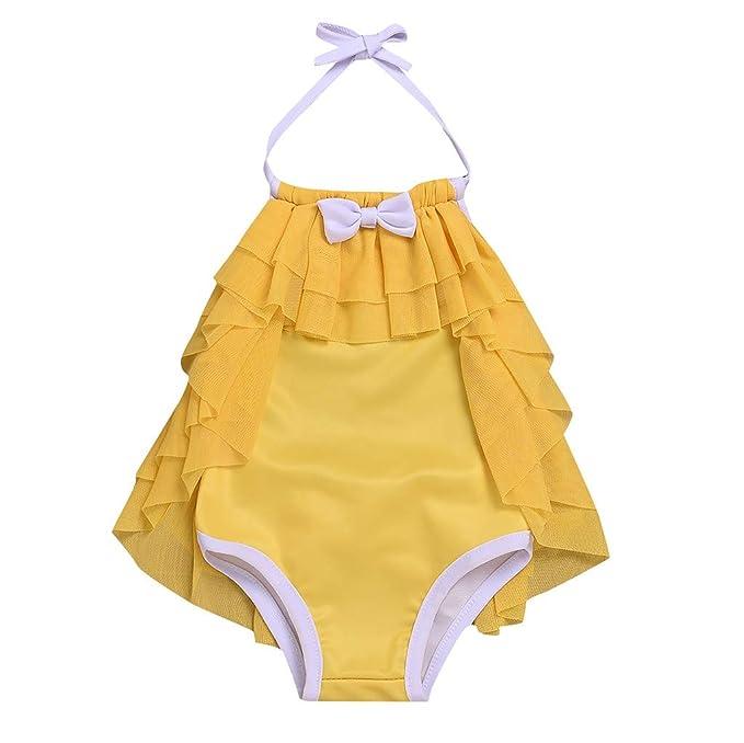 como escoger vívido y de gran estilo seleccione para el más nuevo VECDY Bañador Bebe Niña, Moda Suave Bikini 2019 Conjuntos ...