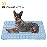 Best Cooling Pad For Dogs - XL Pet Cooling Mat,Summer Cats and Dogs Kennel Review
