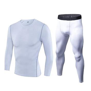 46099dc98 CHENGXINGF Polainas de compresión para Hombre Pantalones Deportivos Frescos  y Secos Correr Gimnasio Medias (Color : Blanco, Tamaño : S): Amazon.es:  Jardín