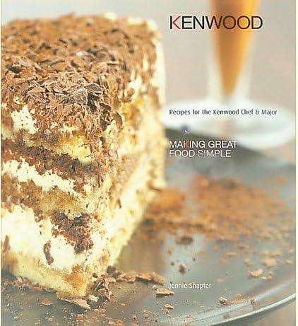 Kenwood KM250 libro de recetas: Amazon.es: Hogar