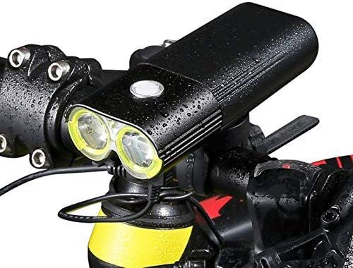 マウンテン/スピード□□自転車ライトフロント1600ルーメンの自転車のライト電源銀行LED防水USB充電式自転車ライトセット