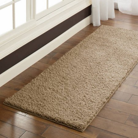Mainstays Manchester Shag Rug Available In Multiple Sizes & Colors (5'x7', Maverick Brown) (Fitness Center Furniture compare prices)