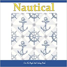 Nautical Ocean Coloring Books In All Departments Adult Life Al For Adults Animals