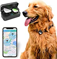 PetFon Pet GPS Tracker, No Monthly Fee, Real-Time Tracking Collar Device, APP Control For Dogs And Pets Activi