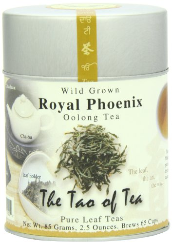The Tao of Tea, Royal Phoenix Oolong Tea, Loose Leaf, 2.5 Ounce Tin -