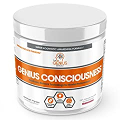 HEIGHTENED MENTAL CLARITY, FOCUS & COGNITIVE PERFORMANCE - Reduce brain fog and clear the cobwebs holding you back from achieving limitless status! Find creativity and free your thoughts with modern science (see product description below ...