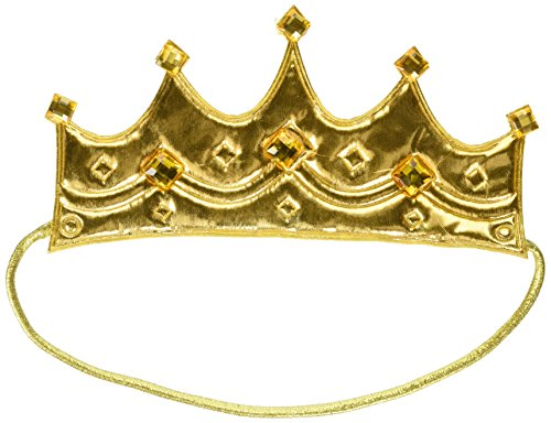 - Child Royal Crown King Queen Gold Medieval Wisemen Costume Accessory Prince