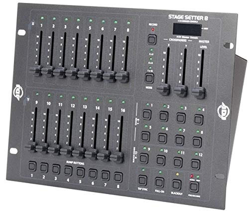 American DJ 8 Ch. Dimming Controller-Stage Setter 8 (STAGESETTER8)