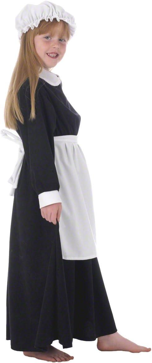 Florence - Disfraz de campesina para niña, talla 10-12 años ...