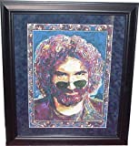 Jerry Garcia Grateful Dead Color Framed Litho - Sports Memorabilia