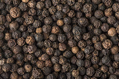 Soeos Whole Black Peppercorns (16 oz), Grade AAA, Black Peppercorns for Grinder Refill, Whole black Peppercorns Bulk, 1 lb..